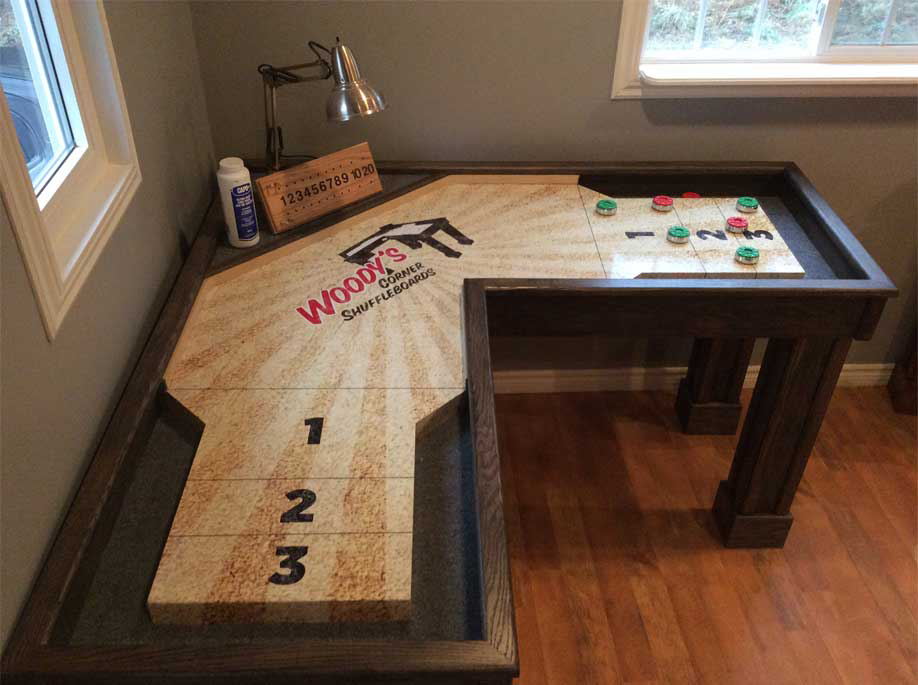 Home - Portable shuffleboard table